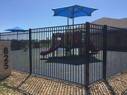 Wrought Iron & Metal Fences for Businesses, Companies and Schools