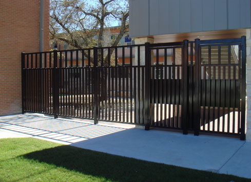 metal-security-fence-with-gate