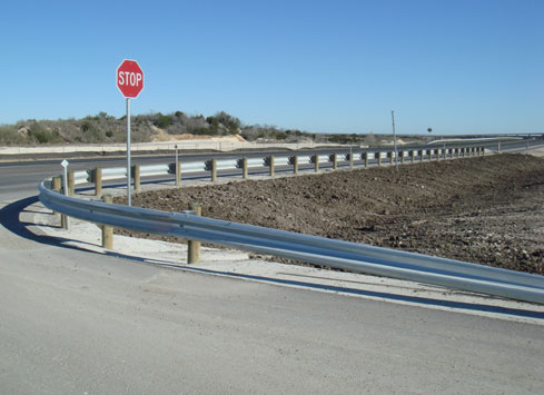txdot guardrail project