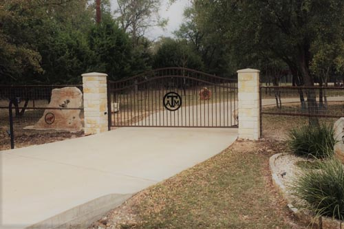 Ornamental-Iron.Custom-Entry-Gate